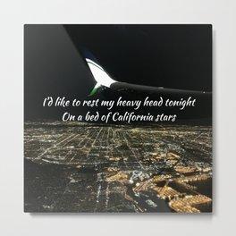 California Stars Metal Print