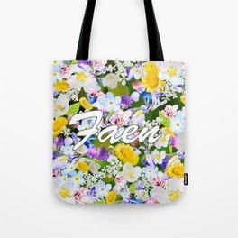 Flower Mess - Faen Tote Bag