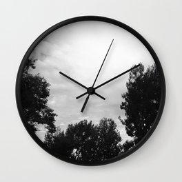 Breaking Cool (Black & White) Wall Clock