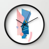 southwest Wall Clocks featuring southwest by cardboardcities