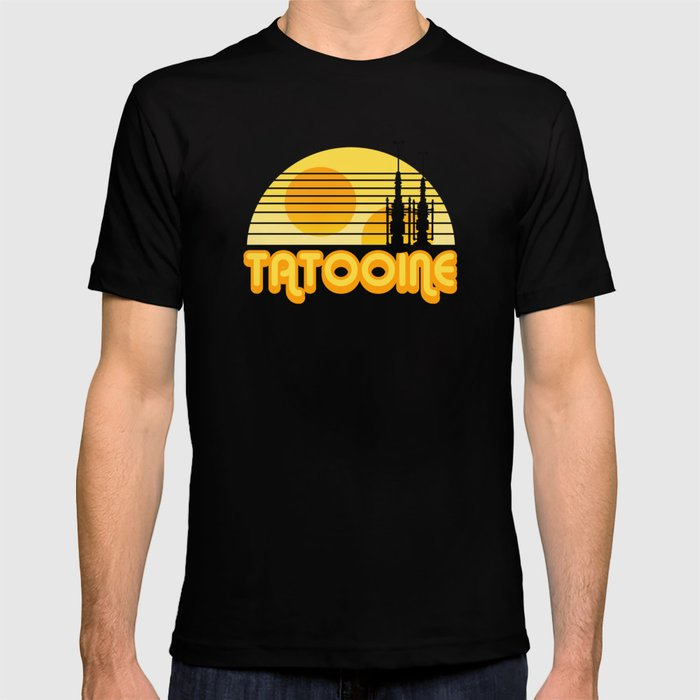 Serene Tatooine T-shirt