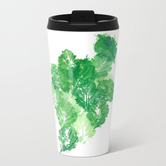 Leaves Dynamics Metal Travel Mug