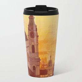 Prague view Travel Mug