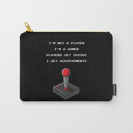 Funny Gamer Achievement Player Carry-All Pouch