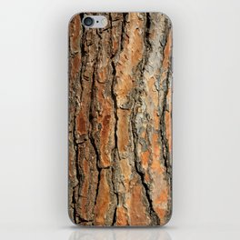 Bark 05 Red Brown iPhone Skin