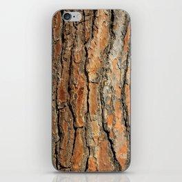 Bark 05 Red Brown iPhone Skin