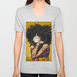 Naturally II GOLD Unisex V-Neck