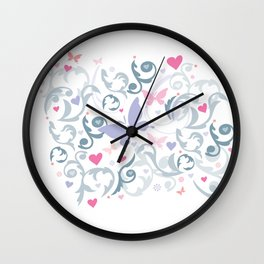 Butterfly Soul Wall Clock