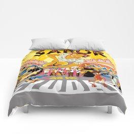JUNTOS SOMOS EL SABOR DE LA CIUDAD 1 Comforters