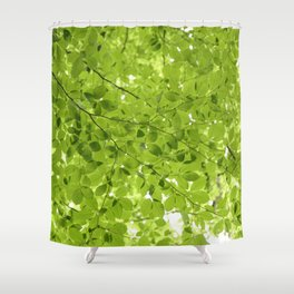 Leaves - JUSTART (c) Shower Curtain