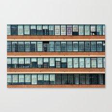 New York City Ribbon Windows Canvas Print