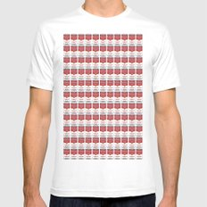 The Can of Soup in the Age of Mechanical Reproduction MEDIUM Mens Fitted Tee White