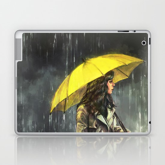 All Upon the Downtown Train Laptop & iPad Skin