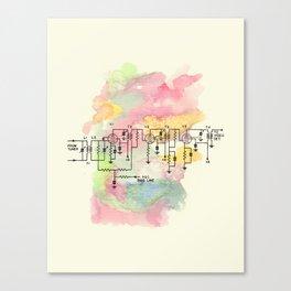 Barrett Canvas Print
