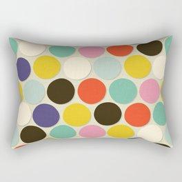 chelsea spot cream Rectangular Pillow