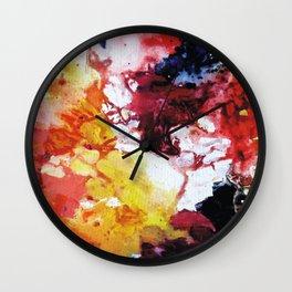 Meadow, Abstraction II Wall Clock