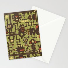 World of robots. Stationery Cards