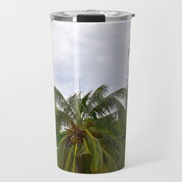 Palm Trees in the Sky Travel Mug