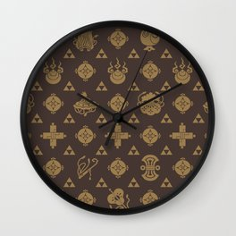 Takarazukushi Classic Motif Wall Clock