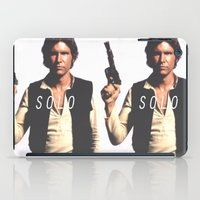 han solo iPad Cases featuring Han / Solo by Earl of Grey