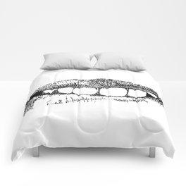 Lip Service Comforters