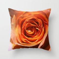 Vavoom Rose Throw Pillow