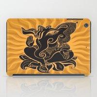 hindu iPad Cases featuring Hindu God Ganesha by Smyrna