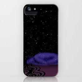 Nuit, The Lady of the Stars iPhone Case