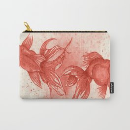 Carmine goldfishes Carry-All Pouch