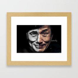Satisfy  Framed Art Print
