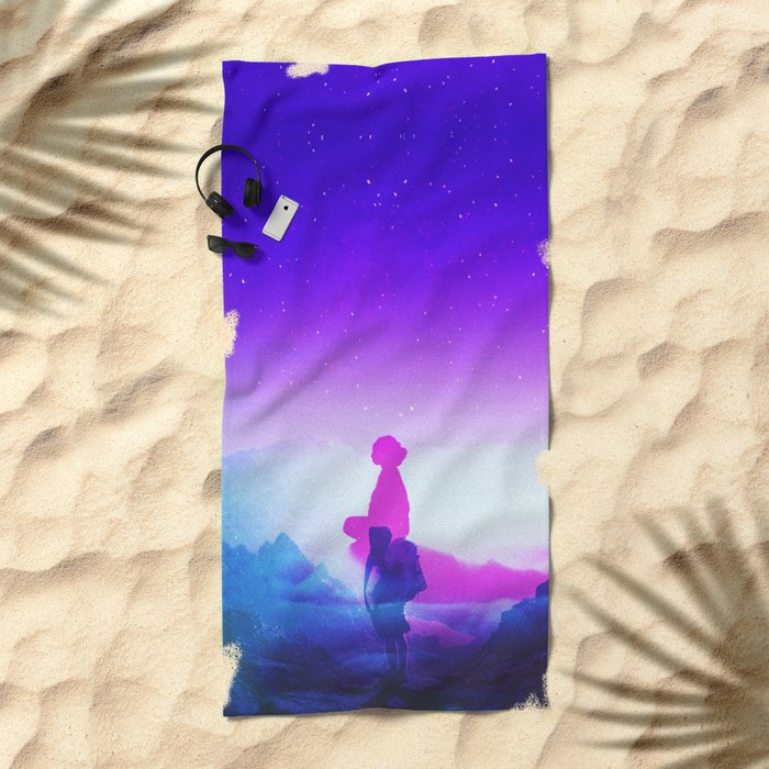 Wonder Never Cease Beach Towel
