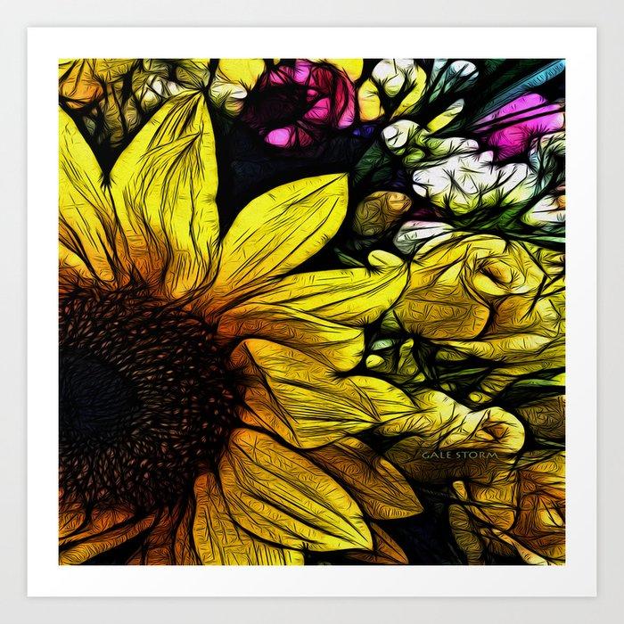 :: Come A Little Closer :: Art Print