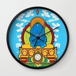 BUDDHA BUN Wall Clock