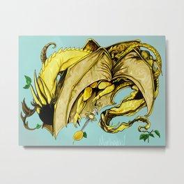 Lemon Demon Metal Print