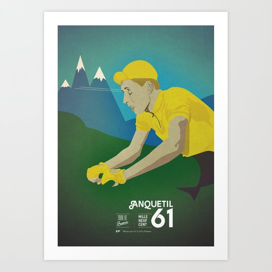 Anquetil Art Print