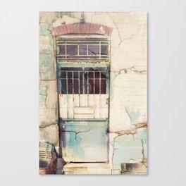 Porte du Etterbeek Gare Canvas Print