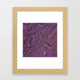 Purple Treasure Framed Art Print