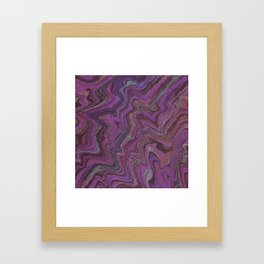 Purple Treasure Framed Art Print
