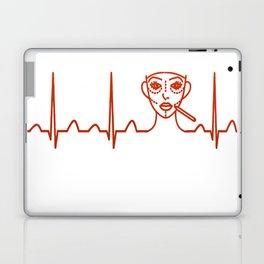 Plastic Surgeon Heartbeat Laptop & iPad Skin