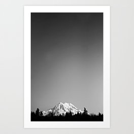 Mt. Rainier Art Print