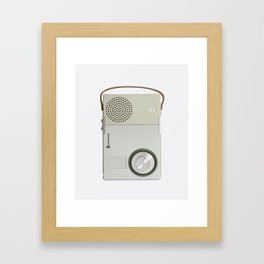 Braun TP1 Framed Art Print