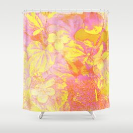 Cool Flowers Shower Curtain