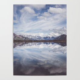 Mountain Lake Reflection - Landscape and Nature Photography Poster