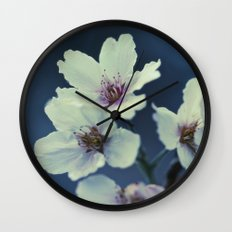 Blossoming - Beautiful Spring Blooms Wall Clock
