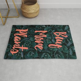 Buy More Plants Poster Rug