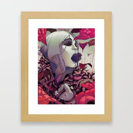 The Department of Alterations Framed Art Print
