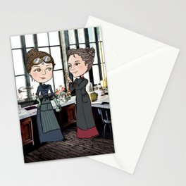 Woman in Science: The Curies Stationery Cards