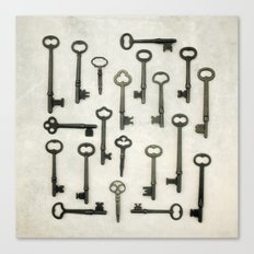 The Key Collection Canvas Print