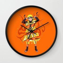 Naruto Sage Mode Wall Clock