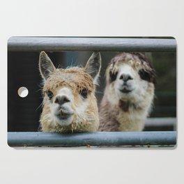 Alpaca Friends Cutting Board